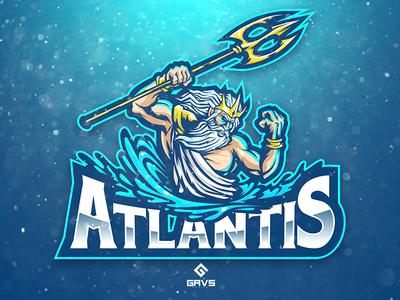 Atlantis esport Logo