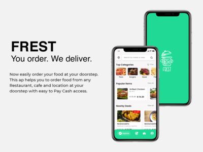 Fast food logo and icons mobile app vector adobe illustrator graphic design design