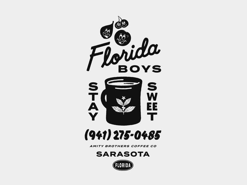 Amty Brothers T-Shirt Artwork design hand lettering drawing line art type typography lettering illustration