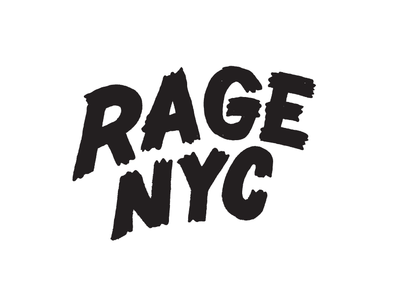 Rage Mountain NYC lettering hand lettering horror sketch illustration