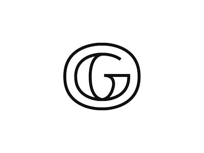 Granite City Icon line art logo design icon monogram illustration