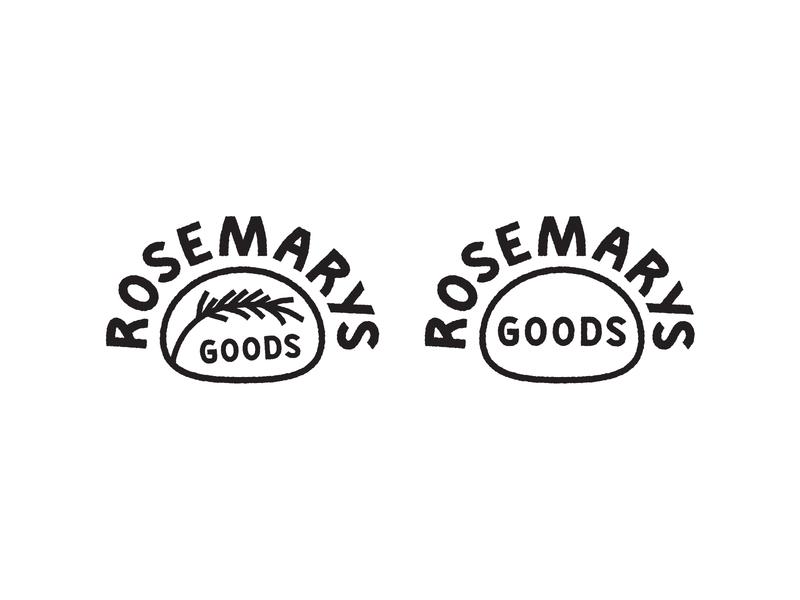 Herby Goodness branding logo design icon line art hand lettering logo type typography lettering illustration