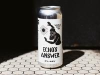 Echo's Answer Label Artwork