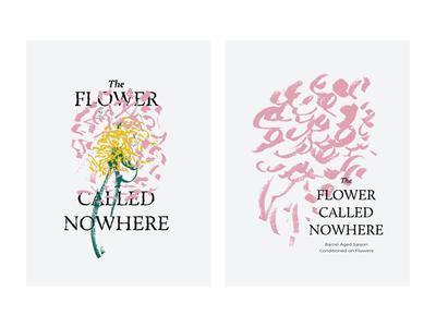 Flower Called Nowhere Label Artwork