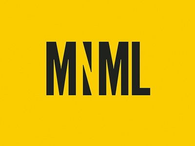 Mnml masthead and colour scheme masthead logo editorial design vector minimalist