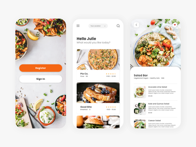 Food Ordering App food app design foodie take out order food online ordering restaurants restaurant app food app food ux design ui design mobile app app ux ui minimalist minimal