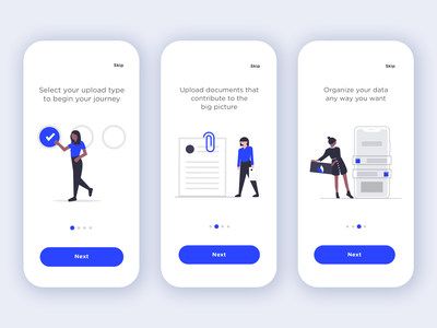 App Walkthrough vector illustration people illustration onboarding ui wizard app walkthrough onboarding intro walkthrough ui design ux design mobile app ux illustration app ui minimal minimalist vector