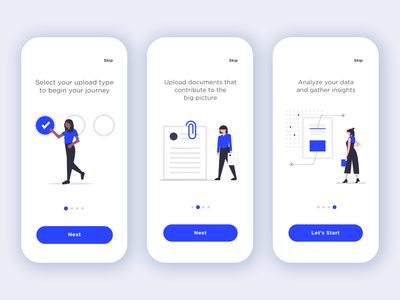 Walkthrough humans vector illustration instruction mobile app design help wizard walkthrough ui design ux design mobile app illustration ux app ui vector minimal minimalist