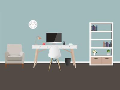 Office Scene By Cassandra Cappello Dribbble