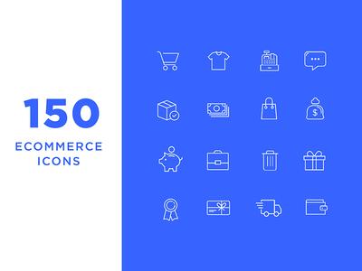 Ecommerce Icons line icons shop buy payment money ecommerce minimal icons