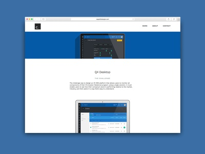 Portfolio Website Redesign