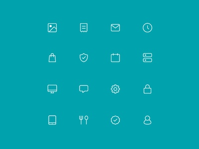 TouchBistro Icon Set