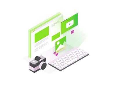 Isometric Website