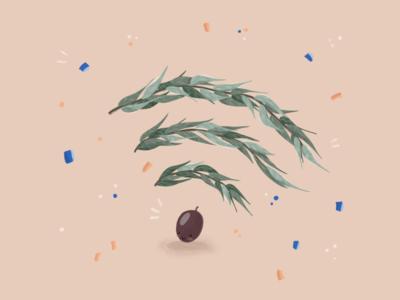 Olive WiFi illustration