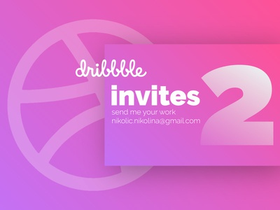 2 Dribble Invites player mobile iphone event giveaway web ios dribbble invites invites invite dribbble