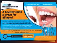 Dentist Eddm Postcard  Template