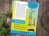 Flyer Design For Cleaning Service