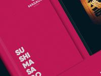 MASAGO SUSHI Branding