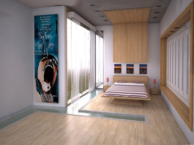 Dreams Room rendering material cinema4d 3ds interior architecture 3dmodel 3d render