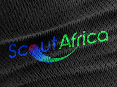 Scout Africa Visual Identity 2018 gradient football colour visual identity identity logo