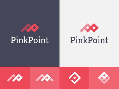 PinkPoint Logo logo identity branding logotype mark adobe fireworks fireworks pink
