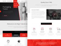 Website Design (WIP)