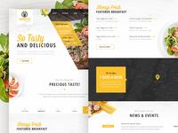 VaPresto Homepage Design Concept
