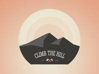 Climb the hill (Badge)