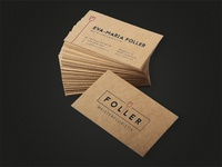 Business cards for Master Floristics
