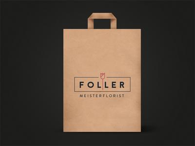 Paperbag (final) - Master Floristics mockup print logo ci bag paper