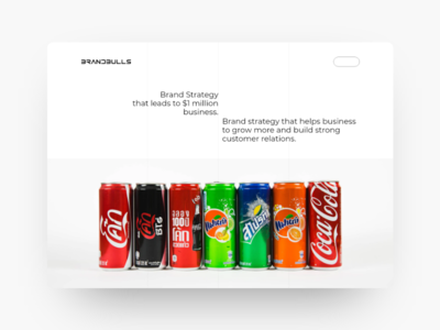 The Brandbulls Departmental Store wine softdrink cold drinks branding typography app design web design webdesign ux design xd landing page landingpage uiux uidesign uxdesign store