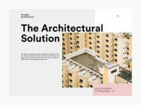 The architecture landing page