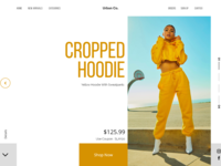 Clothing Line Web Design