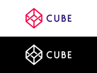 colored or bw? – CUBE Logo
