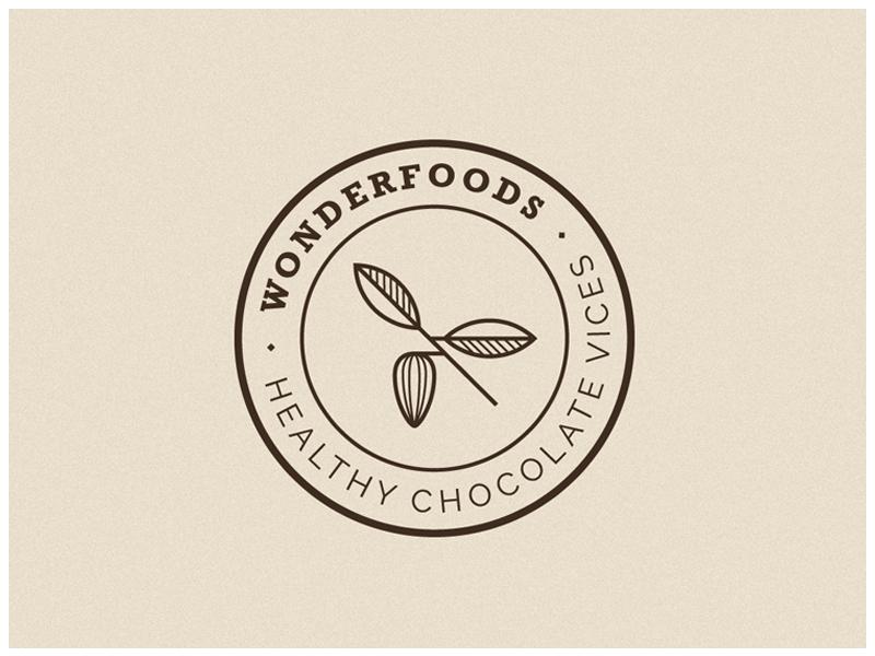 Wonderfoods Logo V2 vector icon identity branding corporateidentity branding design graphic  design identity branding logotype logo design