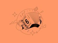 Accordion Illustration