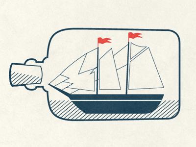 Nautical Cocktail Recipe Cards nautical