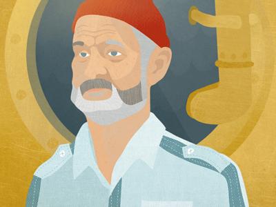 Steve Zissou Illustration