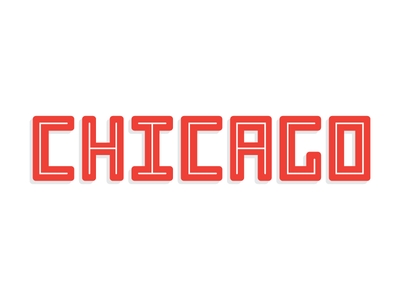chicago chicago lettering