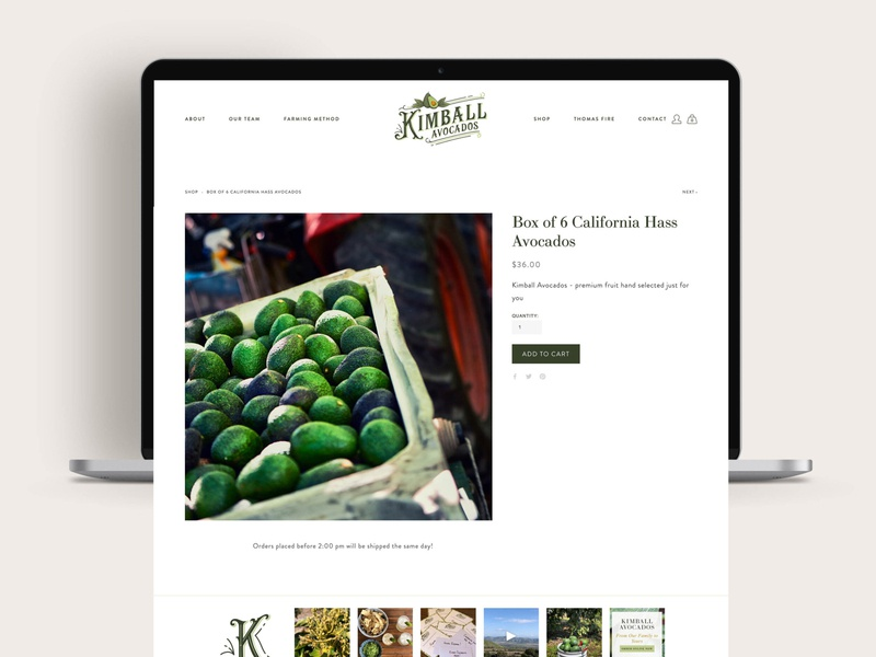 Farm to Table E-commerce Website