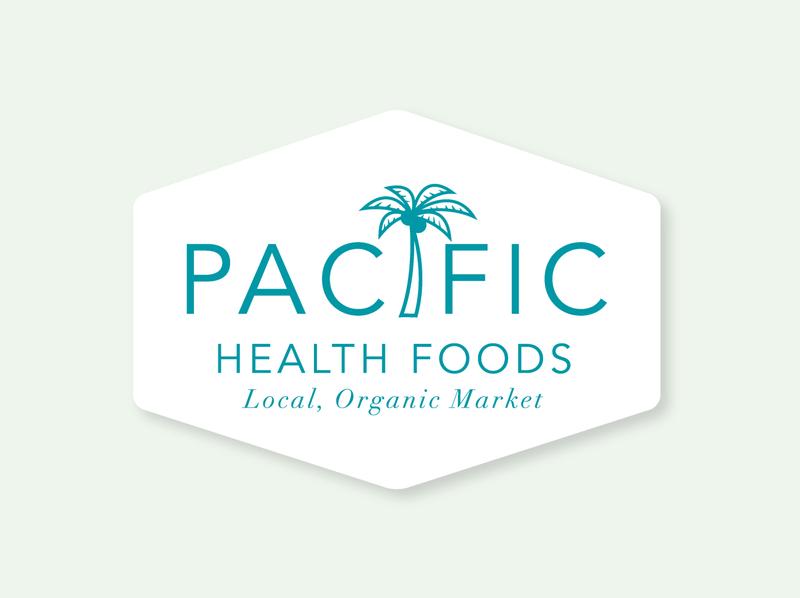 Health Foods Market Logo brand design vector typography design logo branding