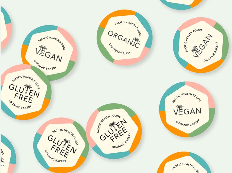 Wellness Store Sticker Design designer portfolio typography illustration brand design design logo branding sticker design sticker