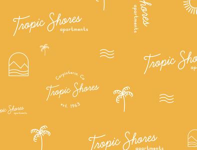 Custom Brand Pattern for Hotel pattern design pattern designer portfolio design brand design logo branding