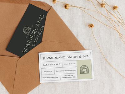 Logo Suite on Business Cards business cards illustration typography designer portfolio brand design design logo branding