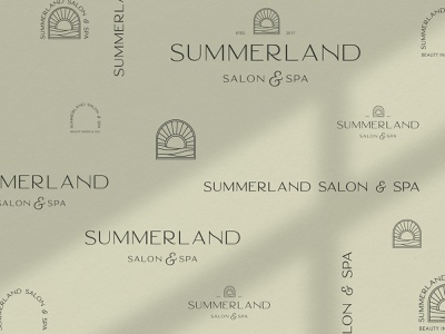 Logo Suite for Salon and Spa logo suite illustration typography designer portfolio brand design design logo branding