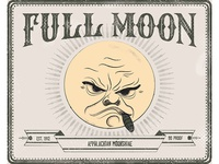 Full Moon Label