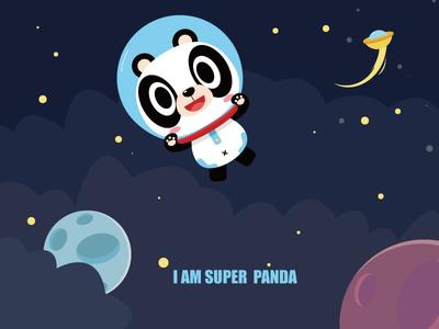 超级熊猫-super panda