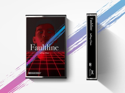 80s Themed Casette tape cover design