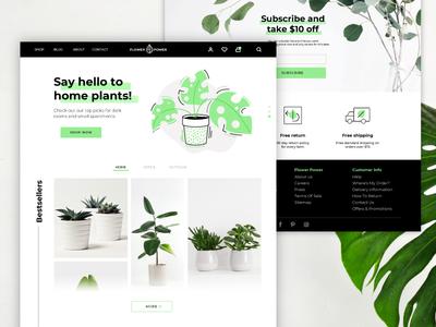 Plant Shop Shot 🌿
