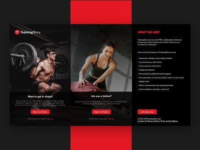 Fitness Shot | Trainee | Trainer freelance convrtx muudy free app minimal art modern vector ux ui minimal branding design